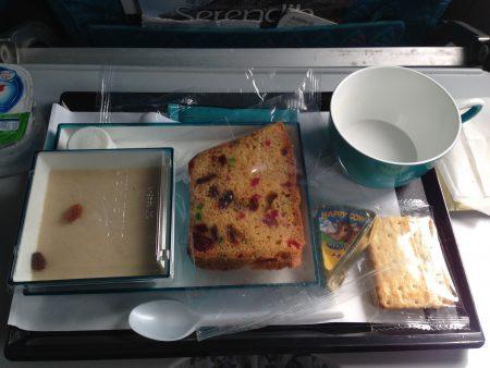 スリランカ航空の機内食