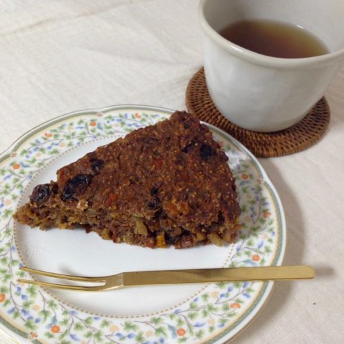 陳皮ケーキ