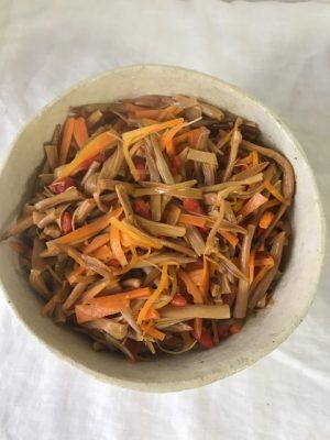 金針菜 レシピ